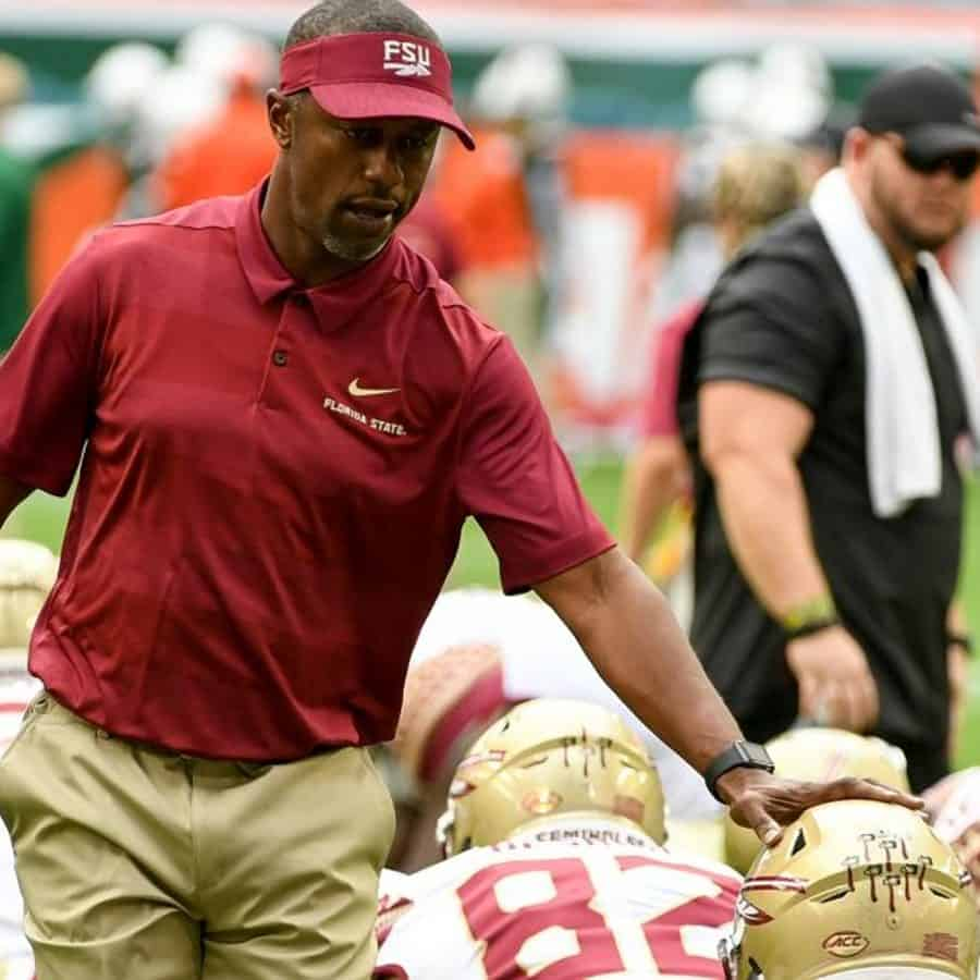 Photo of coach Willie Taggart